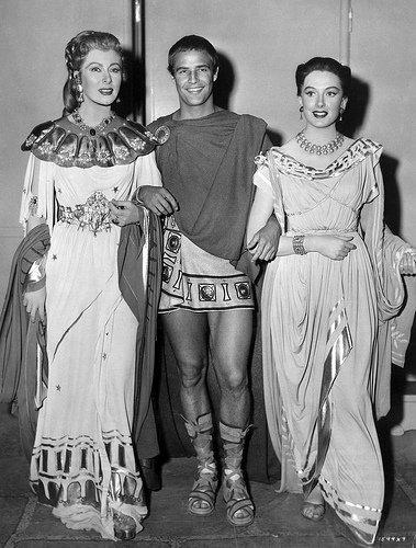 Marlon Brando, Greer Garson & Deborah Kerr