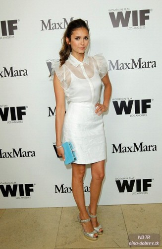Max Mara Cocktail Party Honoring The 2012 Women In Film Face Of The Future Chloe Moretz - nina-dobrev Photo