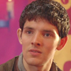 Merlin on BBC photo with a portrait called Merlin ♥