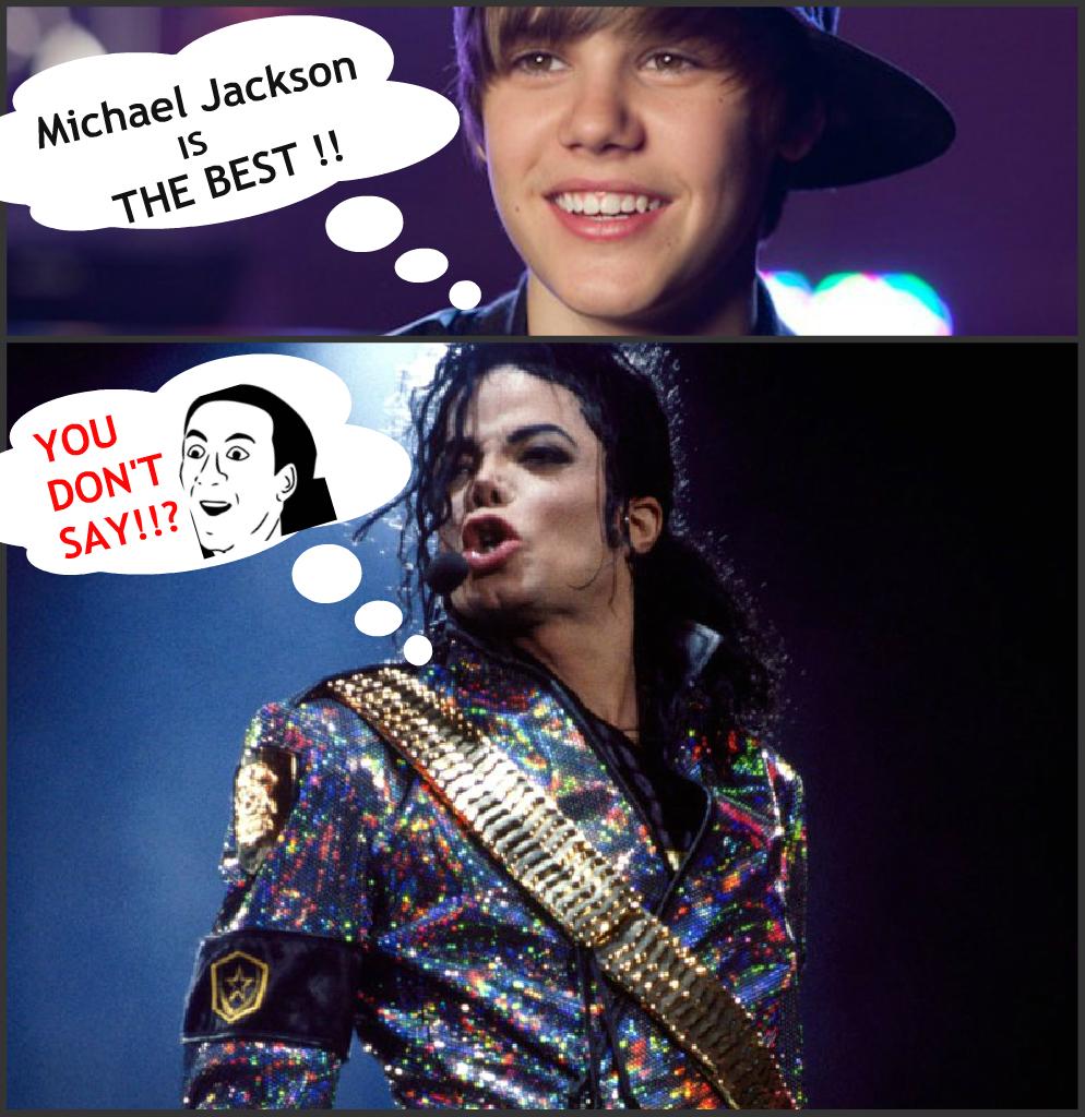 Michael Jackson King of EVERYTHING !