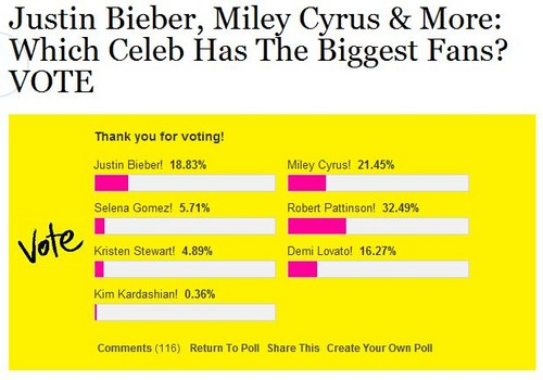 Miley cyrus - Poll - Hollywoodlife - miley-cyrus Fan Art
