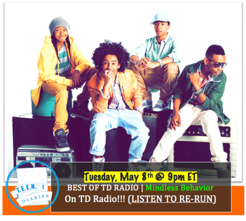 Mindless Behavior at TD radio