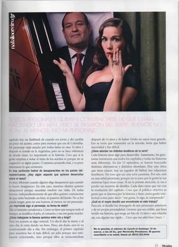 Miradas Magazine Argentina March 2012
