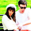 Monchele - lea-michele-and-cory-monteith photo