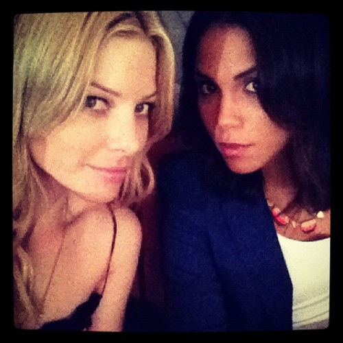 Monica Raymund and Lauren German