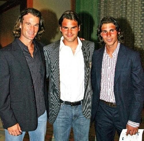 Moya,Federer and Nadal sexy !