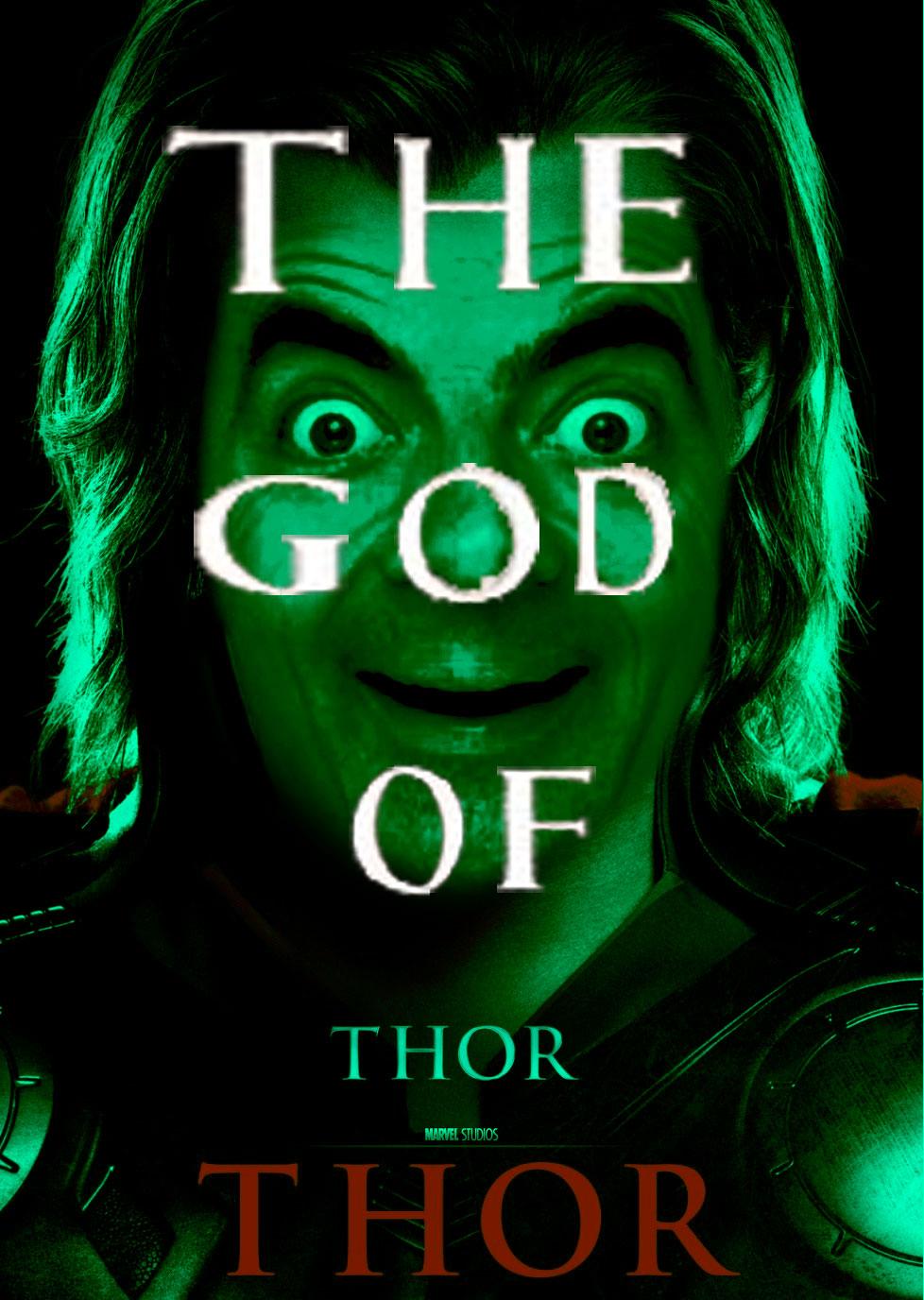 Mr. Bean As Thor