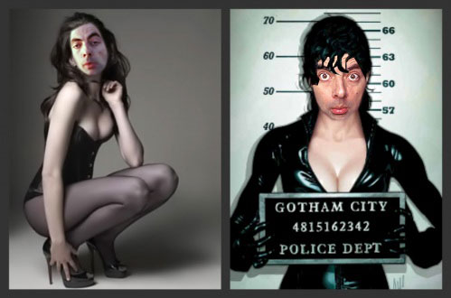 Mr. fagiolo wallpaper containing a portrait entitled Mr. fagiolo Hathaway As Catwoman