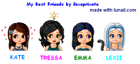 My Best Friends!