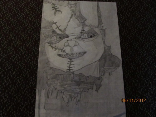 My Chucky Drawing
