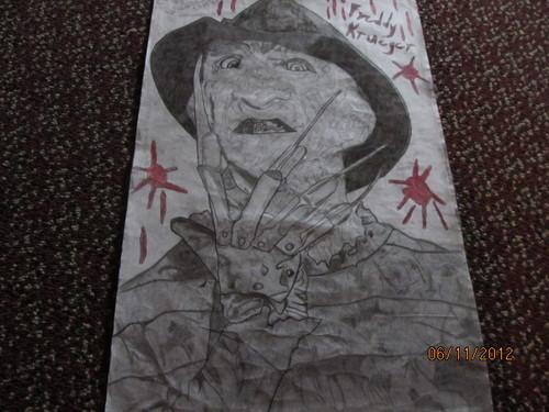 My Freddy Krueger Drawing