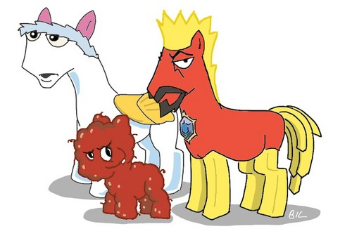 My Little Aqua Teen Hunger Froce - my-little-pony-friendship-is-magic Photo