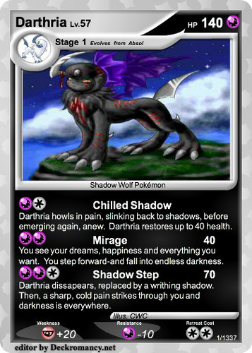 pokemon card i made
