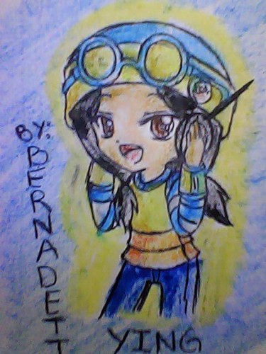 My shabiki art of Ying anime headset