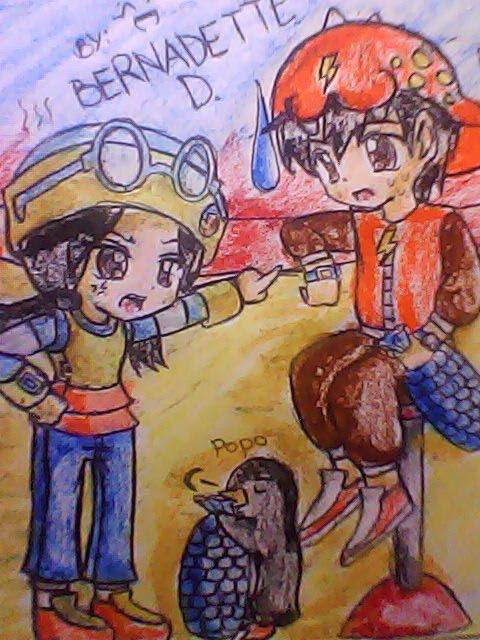 My fan art of Boboi Boy, Ying and Popo