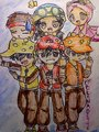 My fan art of Boboi Boy and his Friends... again... - boboiboy fan art