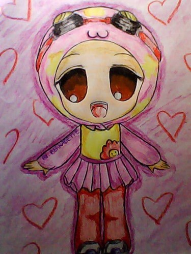 My fan art of Yaya chibi version
