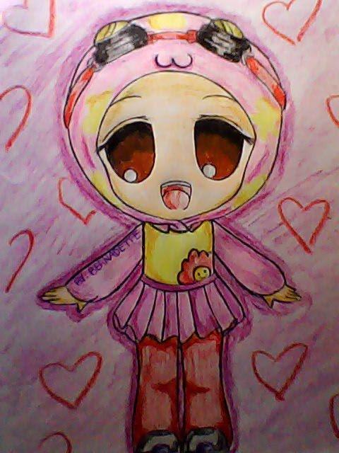 My fan art of Yaya Chibi version