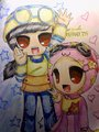 My fan art of Ying and Yaya season 2 - boboiboy fan art