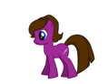 My random pony oc. - bakuargirl729 photo