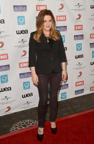 NARM Music Biz Awards Dinner Party - Arrivals - lisa-marie-presley Photo