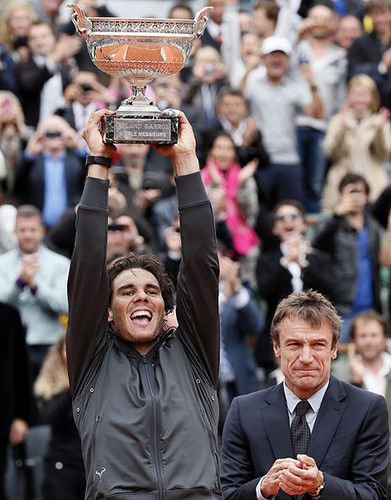 Nadal wins his 7th French Open शीर्षक