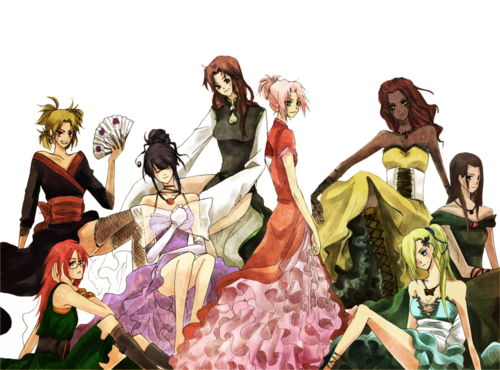 Naruto Girls - naruto-shippuuden Photo