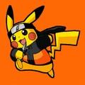 火影忍者 as Pikachu/Pikachu as 火影忍者