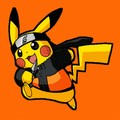 Naruto as Pikachu/Pikachu as Naruto