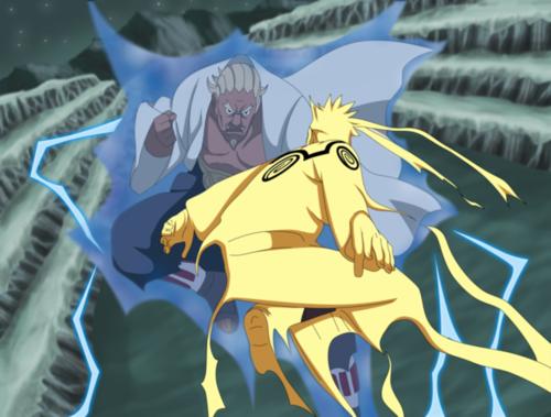 Наруто vs Raikage