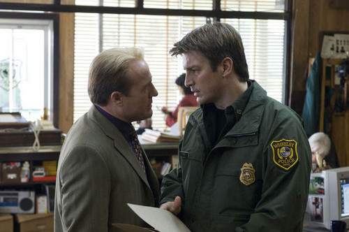 Nathan Fillion as Bill Pardy in Slither [2006]