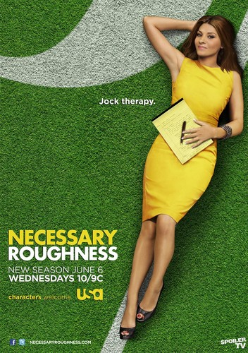 Necessary Roughness - season 2 poster