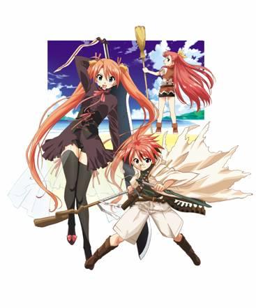 Negi and Asuna