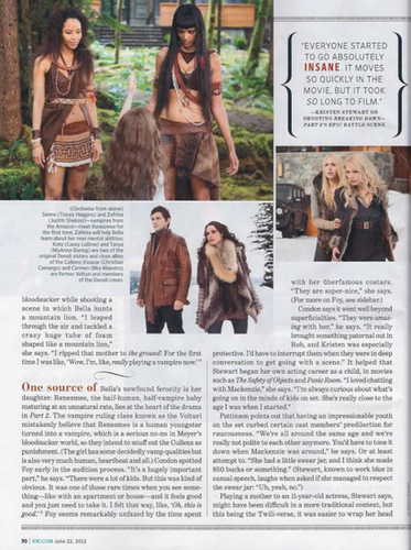 New BD part 2 EW scan: The amazonas, amazon and Denali covens!