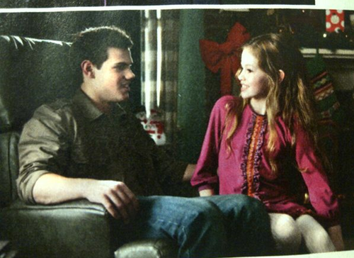 New Breaking Dawn Part 2 still: Jacob & Renesmee!