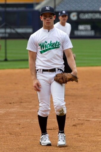 Nick Jonas Baseball Bombers Boomer Broadway