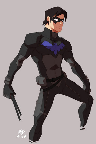 Young Justice wallpaper entitled Nightwing