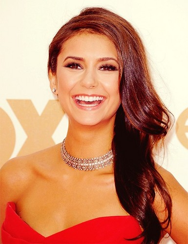 Nina Dobrev wallpaper containing a portrait entitled Nina !<3