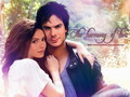 Nina &amp; Ian - nina-dobrev wallpaper