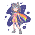 Nyan Cat girl - nyan-cat photo
