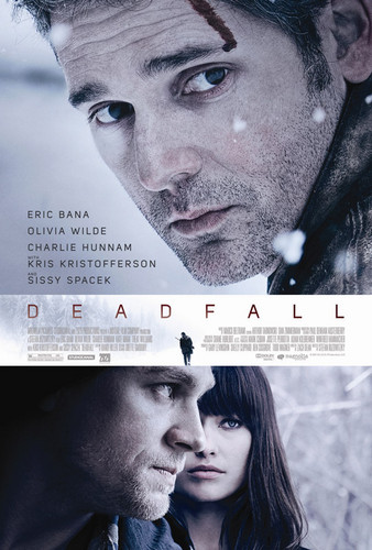 Olivia Wilde in a Promotional Poster for 'Deadfall' (2012)