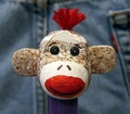 PEZ sock monkey - sock-monkeys photo