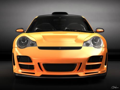 PORSCHE 911 996 top, boven ART CONCEPT DESIGN door BOGDAN URDEA
