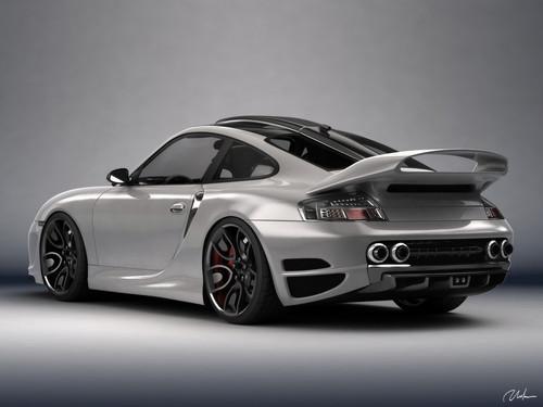 PORSCHE 911 996 haut, retour au début ART CONCEPT design par BOGDAN URDEA