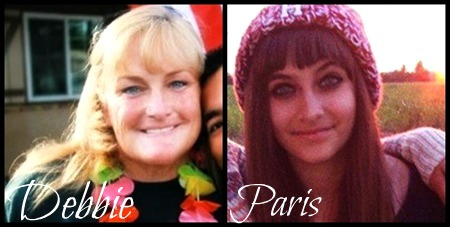 Prince Michael Jackson wallpaper with a portrait titled Paris and Debbie Rowe