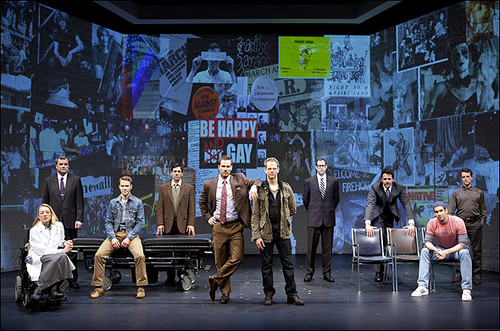 Patrick Breen, Patricia Wettig, Luke MacFarlane and और तारा, स्टार in The Normal दिल at Arena Stage