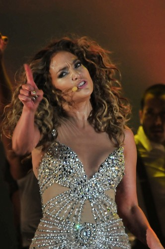 Performs During A concerto In Panama City [14 June 2012]