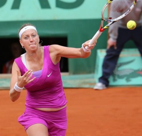 Petra Kvitova has again overweight
