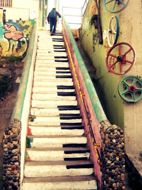 पियानो Stairs