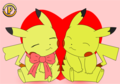 Pikachu Valentine - pikachu photo